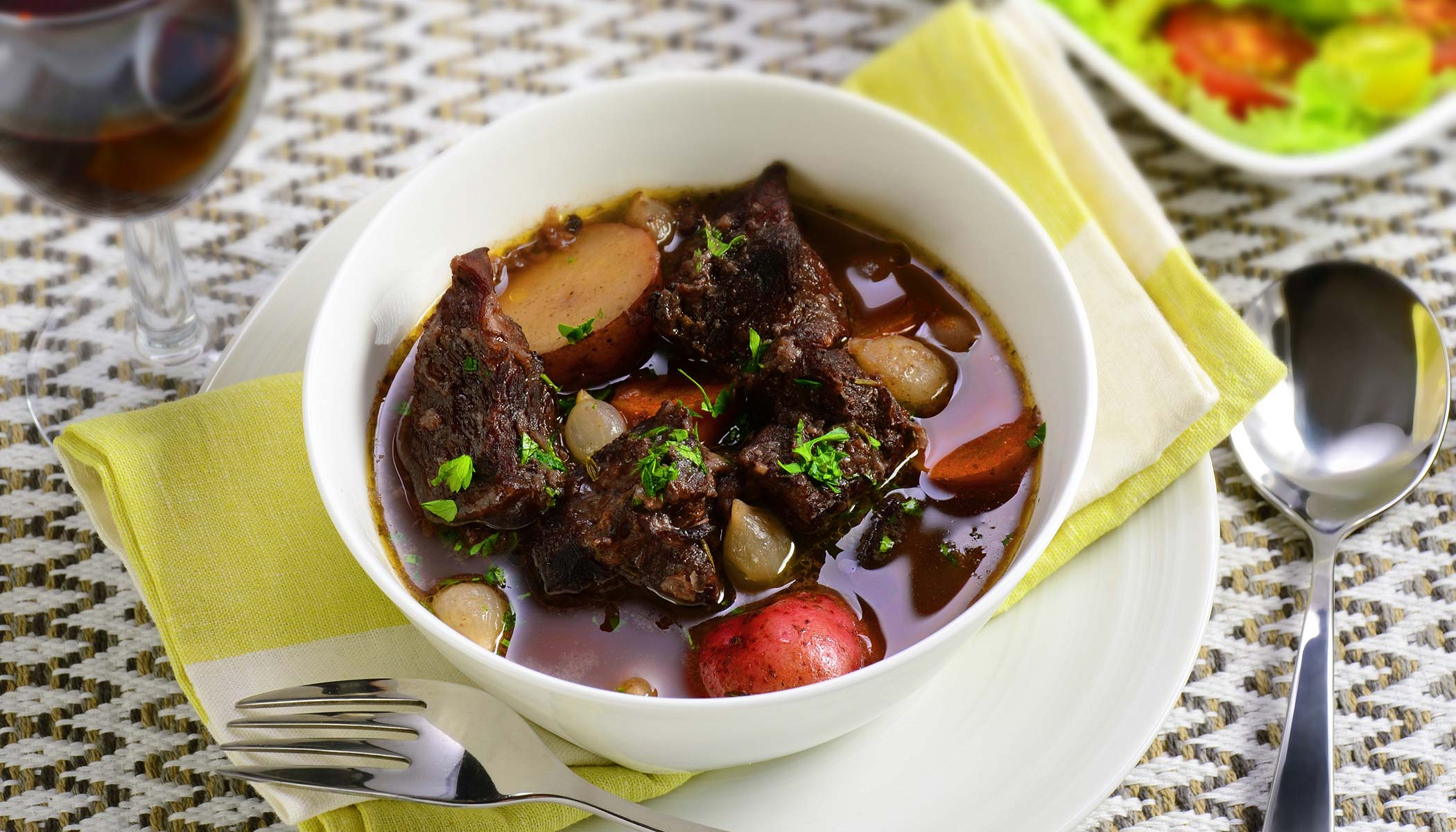 Slow Cooking Wine Stew