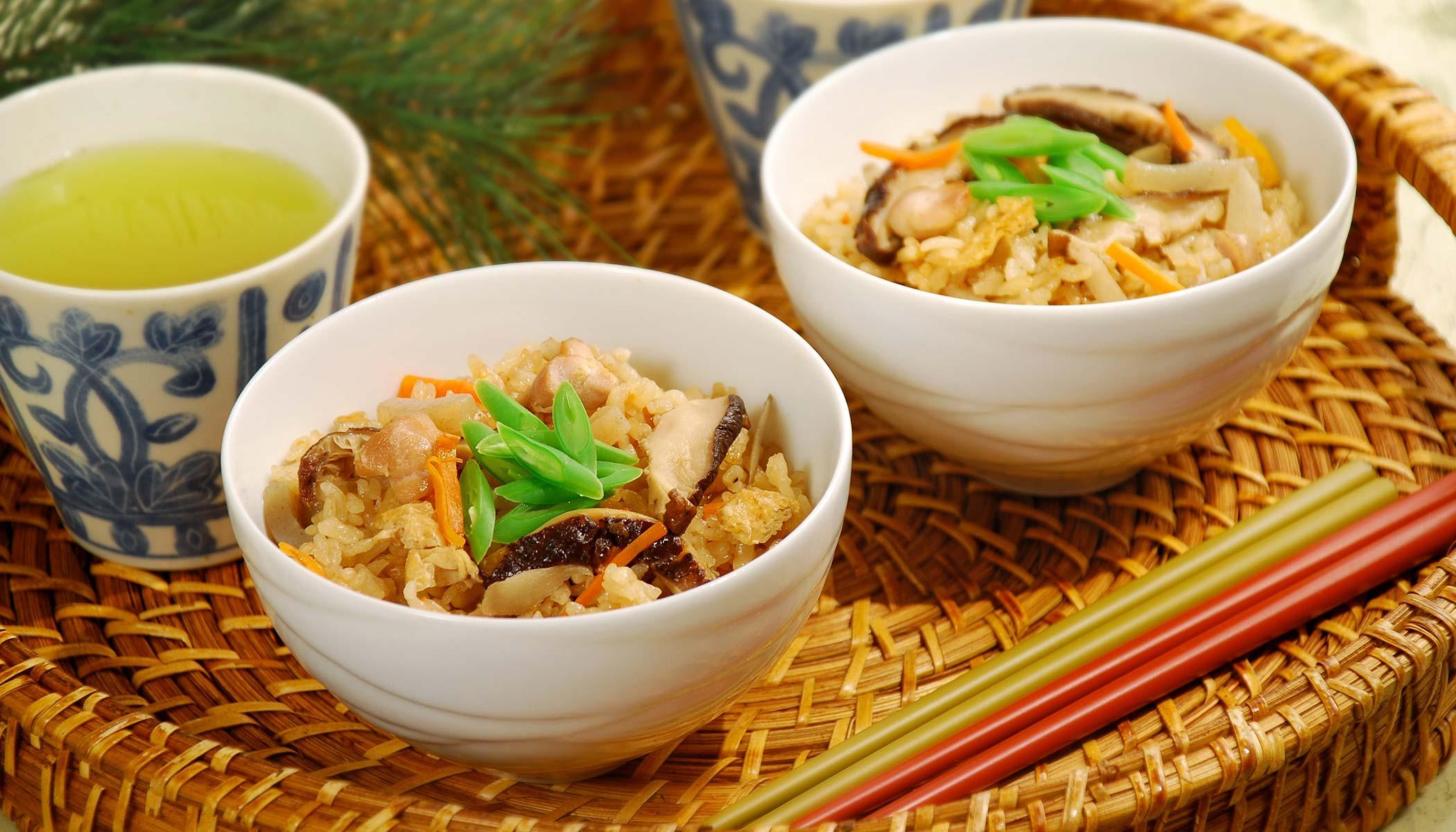 <i>Takikomi-Gohan</i> (Mixed Rice)