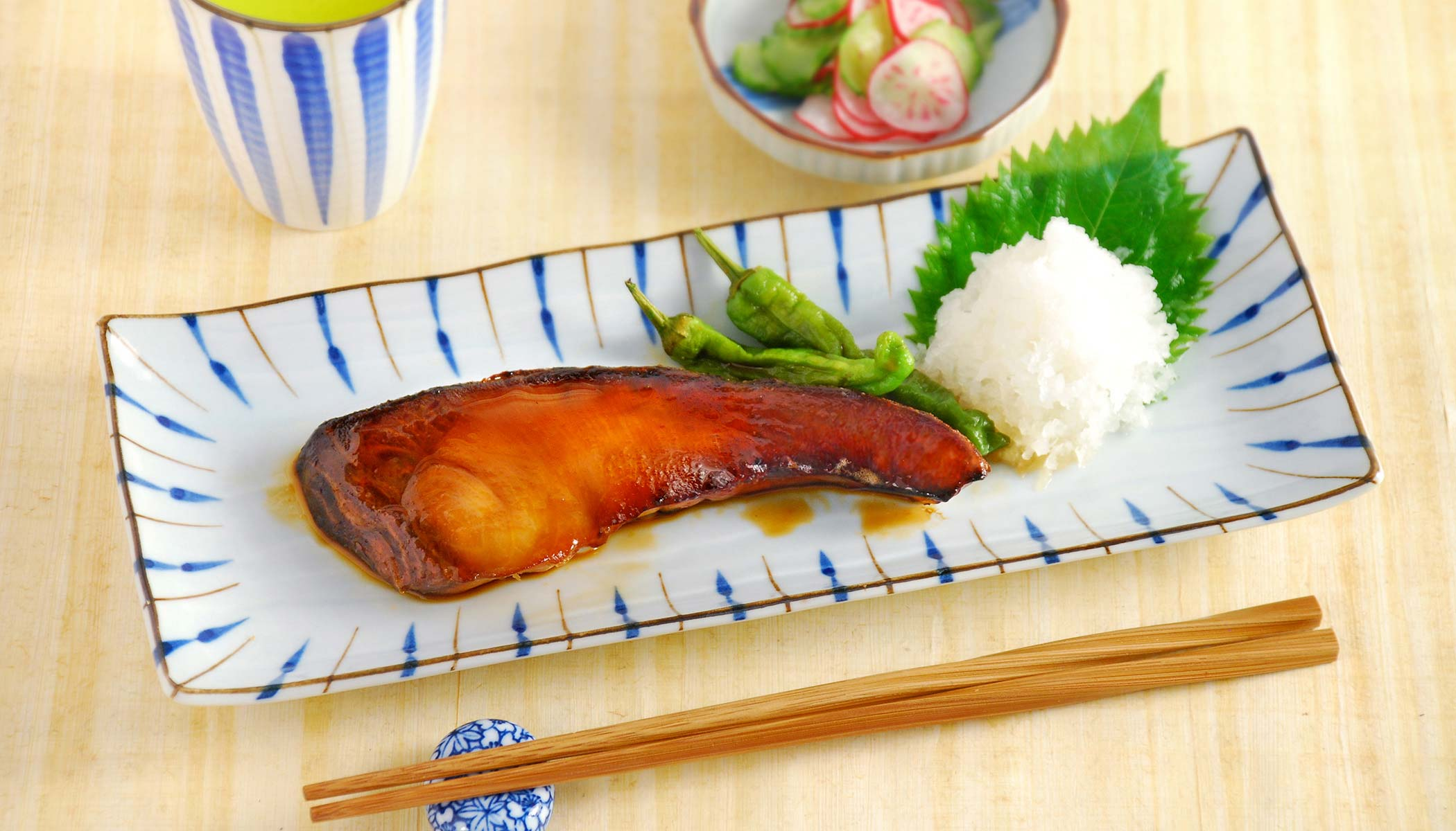 <i>Teriyaki</i> Yellowtail (Buri or Hamachi)