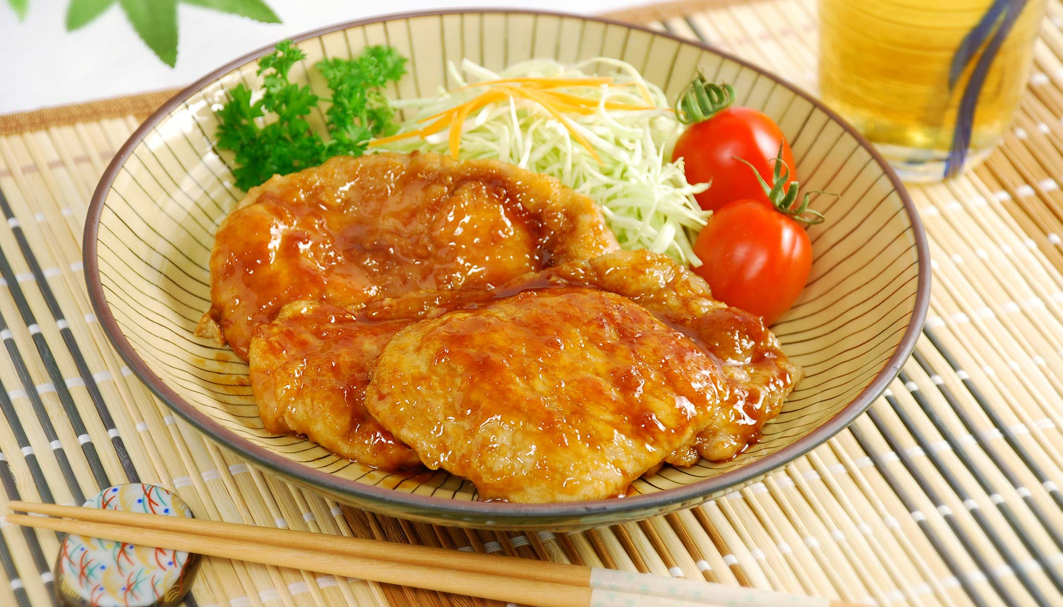 Ginger Pork (Japanese <i>Shoga-Yaki</i>)